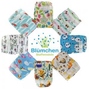 Blümchen Taschenwindel limited Edition Designs