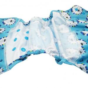 Blümchen XL Überhose lt. Ed. Löwe blau