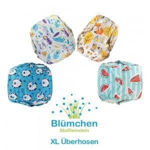 Blümchen XL Überhosen