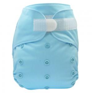 Taschenwindel hellblau Kletter