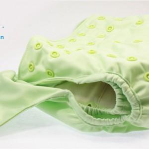 grün Druckknopf